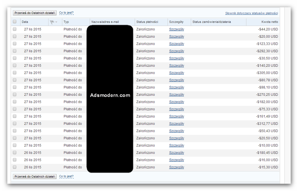 AdsModern Payment Proof