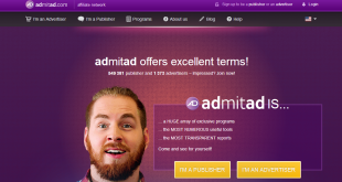 AdmitAd cpa affiliate network - Home Page