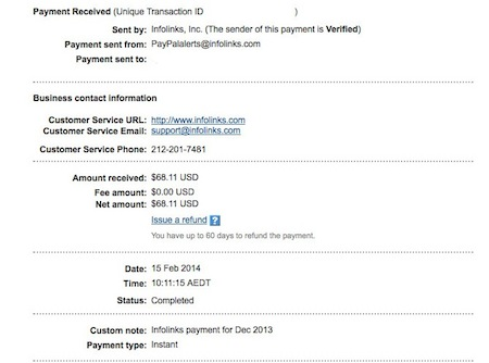 Infolinks Review and Payment Proof - Online Advertising Review
