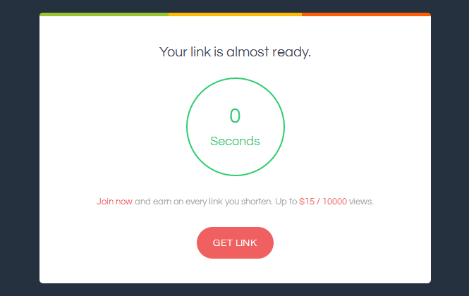 ouo.io - link page