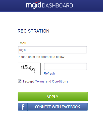 mgid registration page