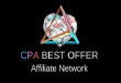 cpabestoffer affiliate network review and payment proof