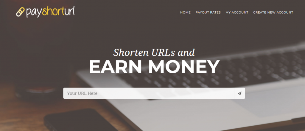 payshorturl url shortener review and payment proof