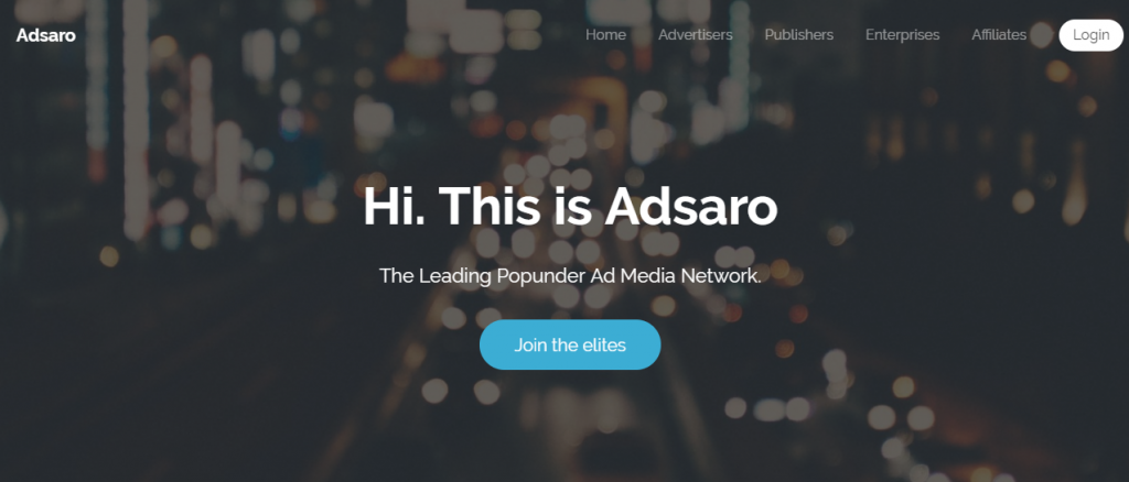 adsaro ad network review and payment proof